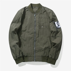 Jacket Ma1 Flight Camouflage Slim Fit Pilot Bomber Jacket