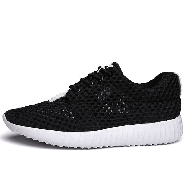 Breathable Women Casual Shoes Summer Footwear Lace-up Flat Shoes Loafers