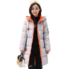 Winter Jacket Women Thick Long Women Parkas Hooded