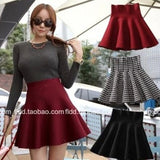 Winter Summer Women Skirt Elastic Midi Skirts Sexy Mini Short Skirts Feminine