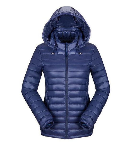 Winter Down Jackets Women Clothing Hooded Cotton Jackets Wadded Coats Outerwear Parkas