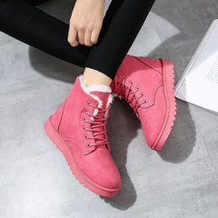 Women Boots Winter Warm Snow Boots Women Suede Ankle Boots For Female Winter Shoes