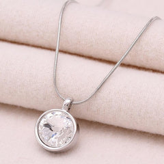Women Necklaces Jewelry Classic Necklace Pendule Gold Austrian Crystal Pendants Jewelry