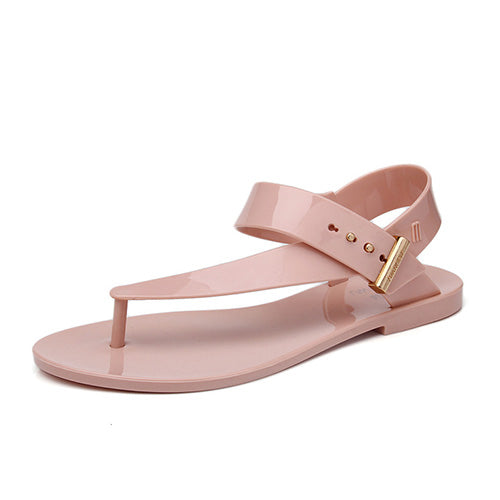 Women Sandals Summer Casual Bohemia Flat Shoes Beach Sandals Solid Casual Shoes