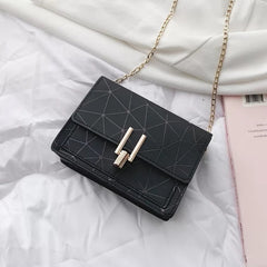 Women Bags Summer Korean Messenger Handbag Chain Wild Crack Printing Shoulder Bag
