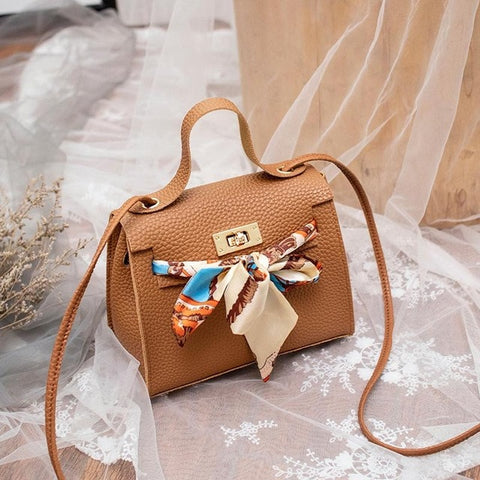 Women Shoulder Bag Cross-body Casual Purses Handbags Delicate Buckle Mini Square Bags