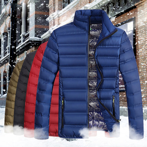 Lightweight Windproof Jacket Cotton Padded  Jacket