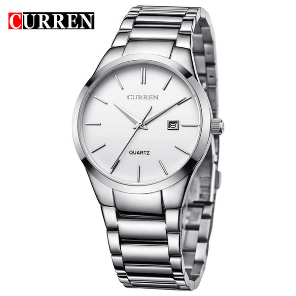 CURREN Luxury Brand Analog Sports Wristwatch Display Date Men's Quartz Watch