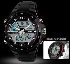 Watch Women Brand Casual Sports Watches LED Military Digital Quartz Wrist Watches