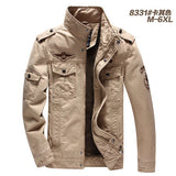 Male Spring Military Jacket Army Soldier Washing Cotton Air Force Clothing Autumn Mens Jackets