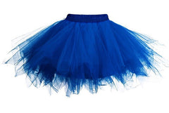 Tulle Elastic Stretchy Teen Layers Summer Adult Tutu Skirt Pleated Mini Skirts