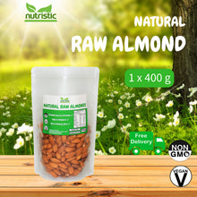 ☆ Value Pack ☆ Natural Raw Almond Nuts [400G]