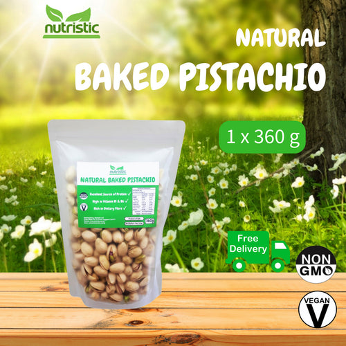 ☆ Value Pack ☆ Natural Baked Pistachio [360g]