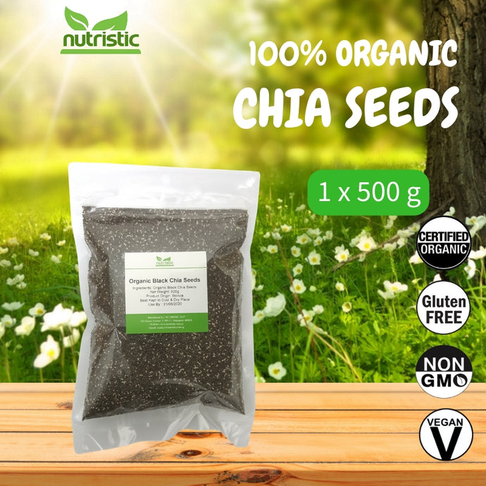 ☆ Value Pack ☆ Organic Chia Seeds [500G]
