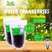 ☆ Value Pack ☆ Dried Cranberries [500g]