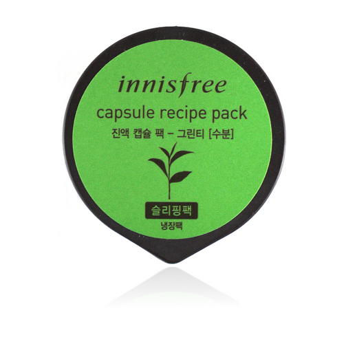 Capsule Recipe Pack Green Tea