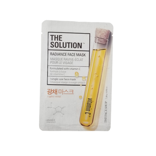 The Solution Radiance Face Mask