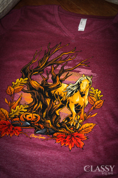 Gypsy Autumn - V-Neck Tee