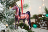 Christmas Bay Arabian Horse Ornament