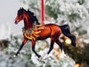 Bay Arabian Horse Christmas Ornament
