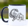 Be You tiful Gypsy Vanner Horse Coffee Mug - 11 oz