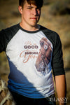 Be so Good - Western Horse Raglan