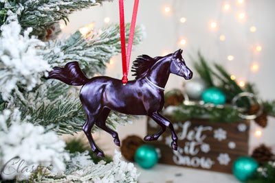 Christmas Ornament - Black Arabian