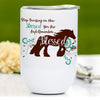 Blessed Gypsy Vanner Horse Wine Tumbler