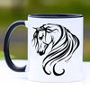 Breathless Arabian Horse Coffee Mug - 11 oz