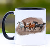 Majestic Arabian Horses Coffee Mug - 11 oz