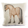 Fjord Horse Pillow Cover