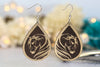 Breathless Arabian Horse Dangle Earrings