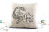 Gypsy Horse Pillow Cover -  Be You tiful Gypsy Cob Horse