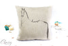 Dressage Horse Pillow Cover