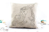 Arabian Horse Pillow Cover -  Grace