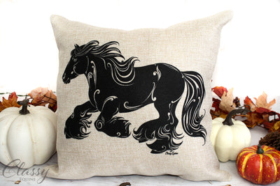 Gypsy Horse Pillow Covers - Set of 4