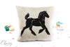 Gypsy Horse Pillow Cover - Gypsy Horse Foal