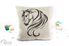 Arabian Horse Pillow Cover -  Breathless