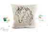 Horse Girl Pillow Cover - Horse Girl
