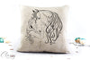 Pillow Cover - Horse Girl Dreams Come True