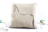 Hunter Jumper Horse Pillow Cover - Sport Horse Topline