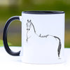 Dressage Horse Topline Coffee Mug - 11 oz