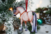 Dun Fjord Horse Christmas Ornament