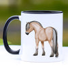 Fjord Horse II Coffee Mug - 11 oz