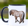 Fjord Horse Coffee Mug - 11 oz