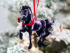 Friesian Horse Ornaments - Romeo