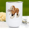 Gypsy Horse Wine Tumbler - Gypsy Spice & Everything Nice