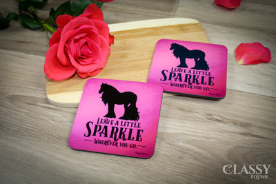 Coasters - Gypsy Horse Leave a Little Sparkle