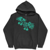 Gypsy At Play - Black Hooded Sweatshirt