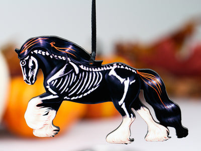 Halloween Gypsy Horse Ornament
